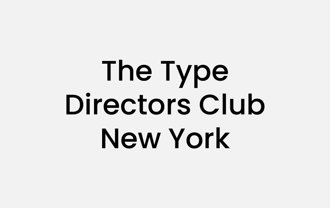 Logo The Type Directors Club New York