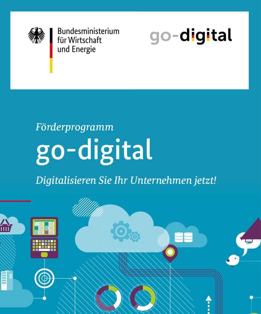 go-digital Förderprogramm um Unternehmen zu digitalisieren