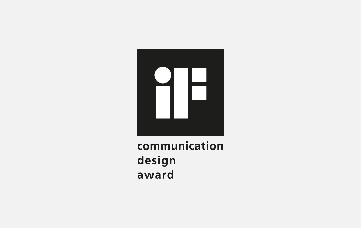 Logo iF Award Communication Design Award
