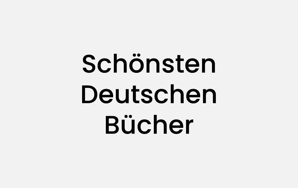 Award Logo Stiftung Förderpreis für junge Buchgestaltung