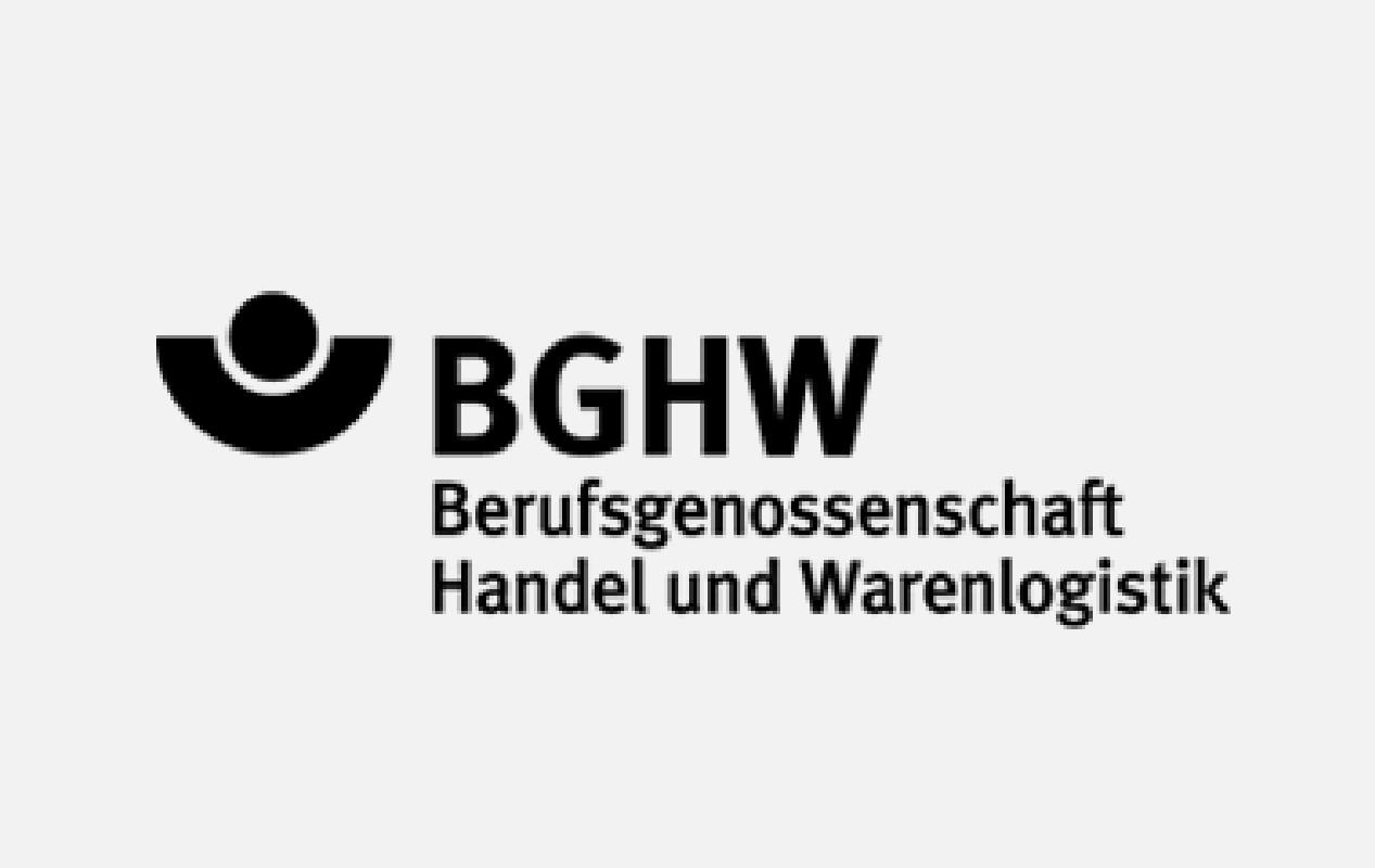 Logo BGHW Berufsgenossenschaft Handel und Warenlogistik