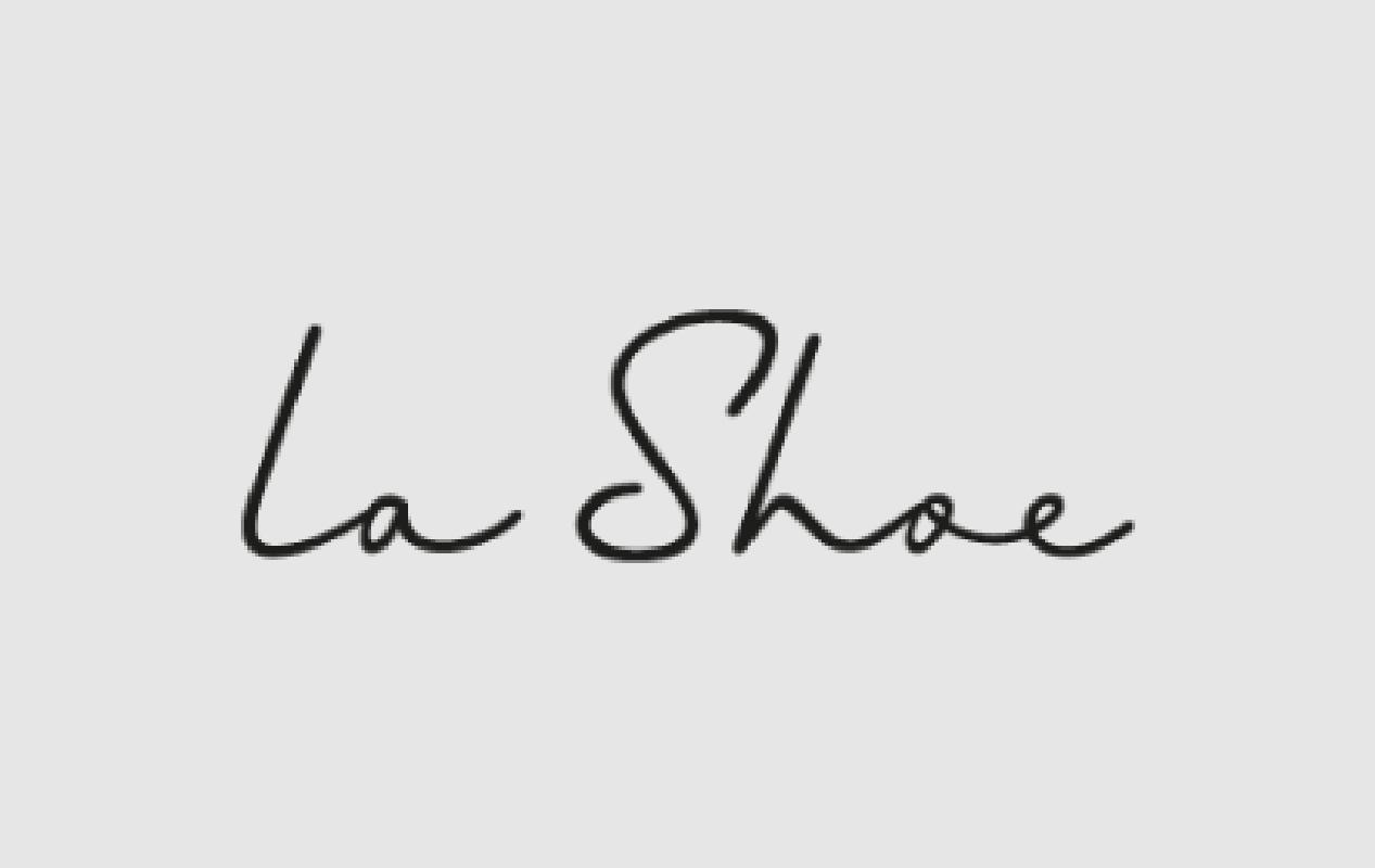 la Shoe Logo