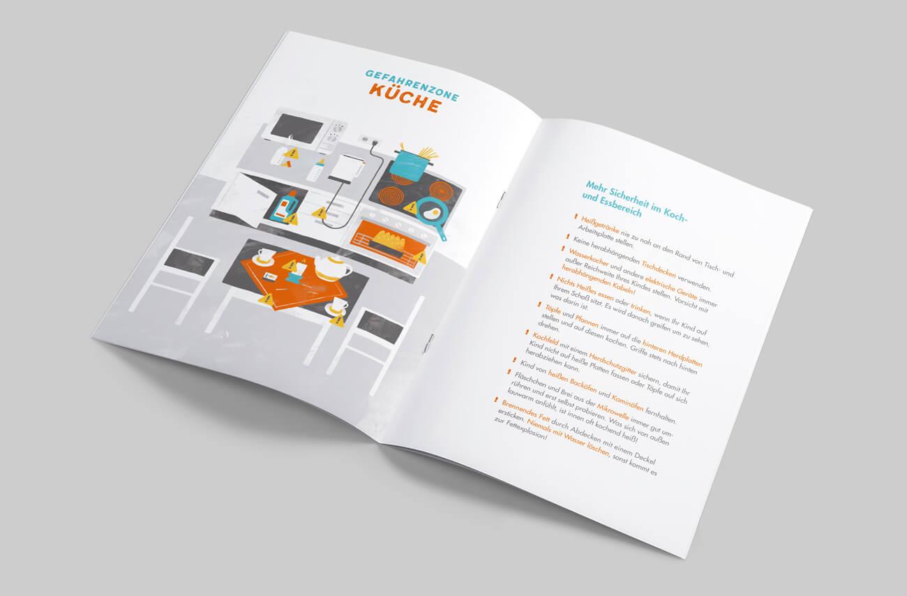 Paulinchen e.V. Initiative für brandverletzte Kinder und Jugendliche Broschüre Prävention Titelseite