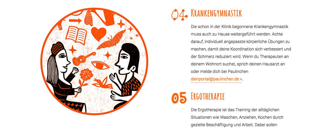 Paulinchen e.V. Initiative für brandverletzte Kinder und Jugendliche Webdesign Website Wordpress