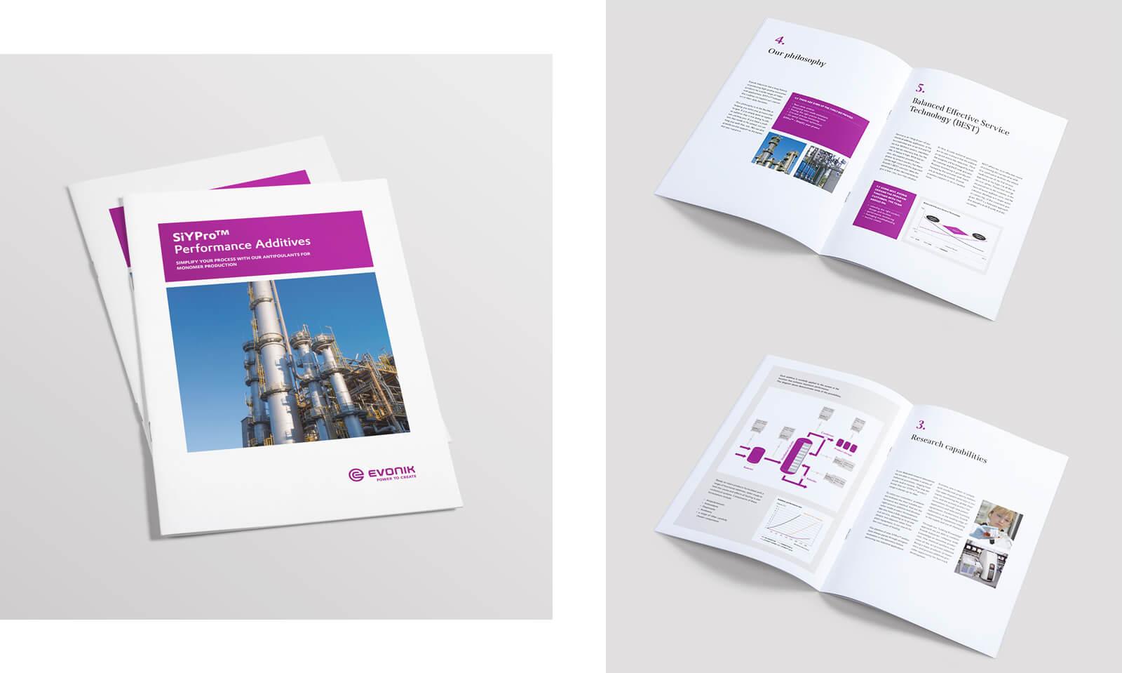 Evonik Industries AG Editorial Design Markenkommunikation Broschüren