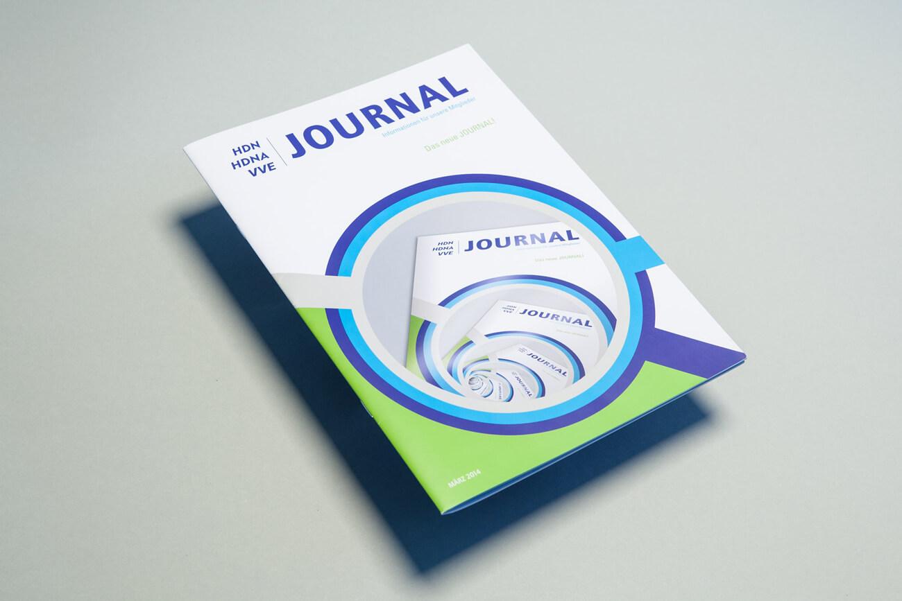 HDN/HDNA/VVE Versicherungen Bochum Journal Titelseite