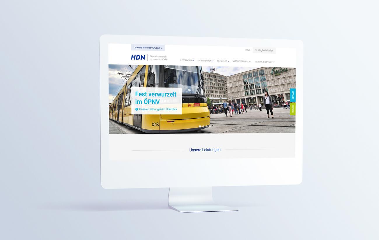 HDN/HDNA/VVE Versicherungen Bochum Website Webdesign Wordpress Online Marketing