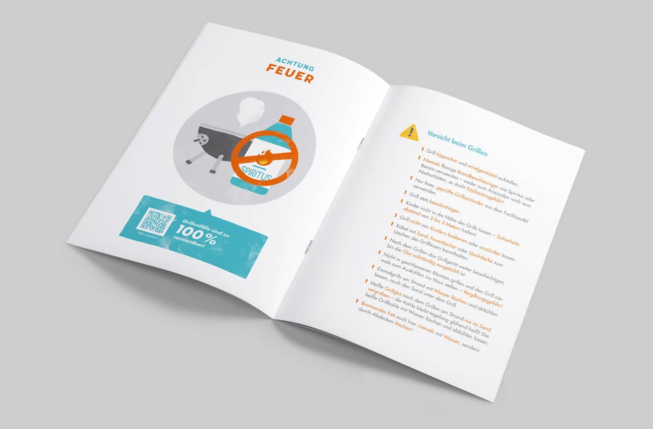 Paulinchen e.V. Initiative für brandverletzte Kinder und Jugendliche Broschüre Prävention