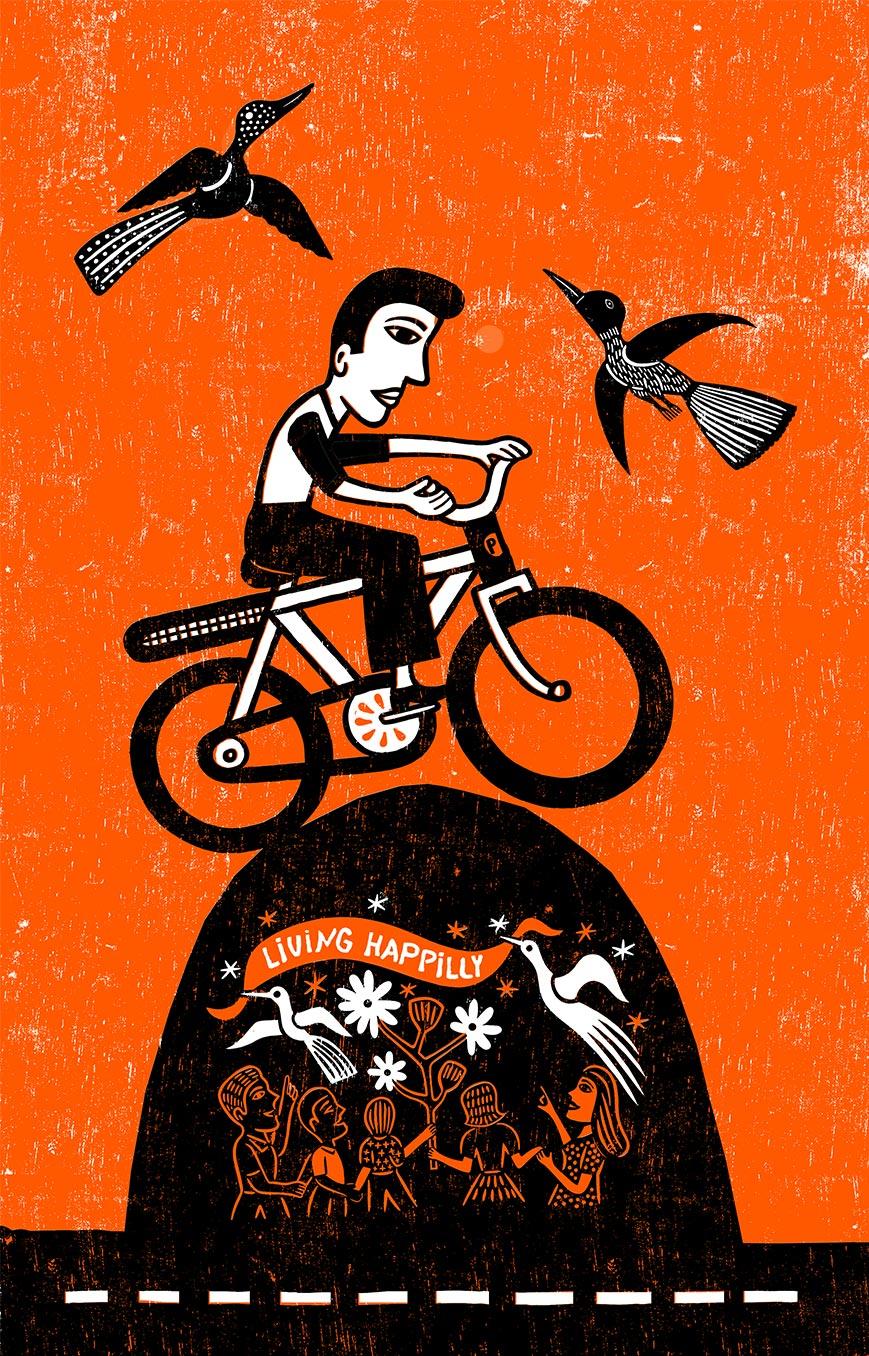 Paulinchen e.V. Initiative für brandverletzte Kinder und Jugendliche Illustration