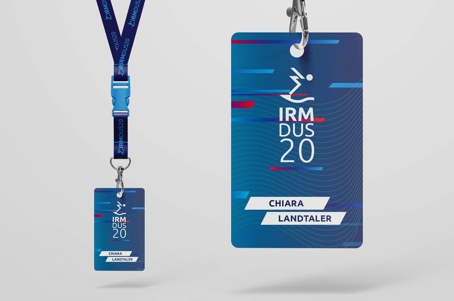 IRM DUS Logo Internationales Rheinmeeting Düsseldorf Eventmarketing Sport Besucher Backstagepass