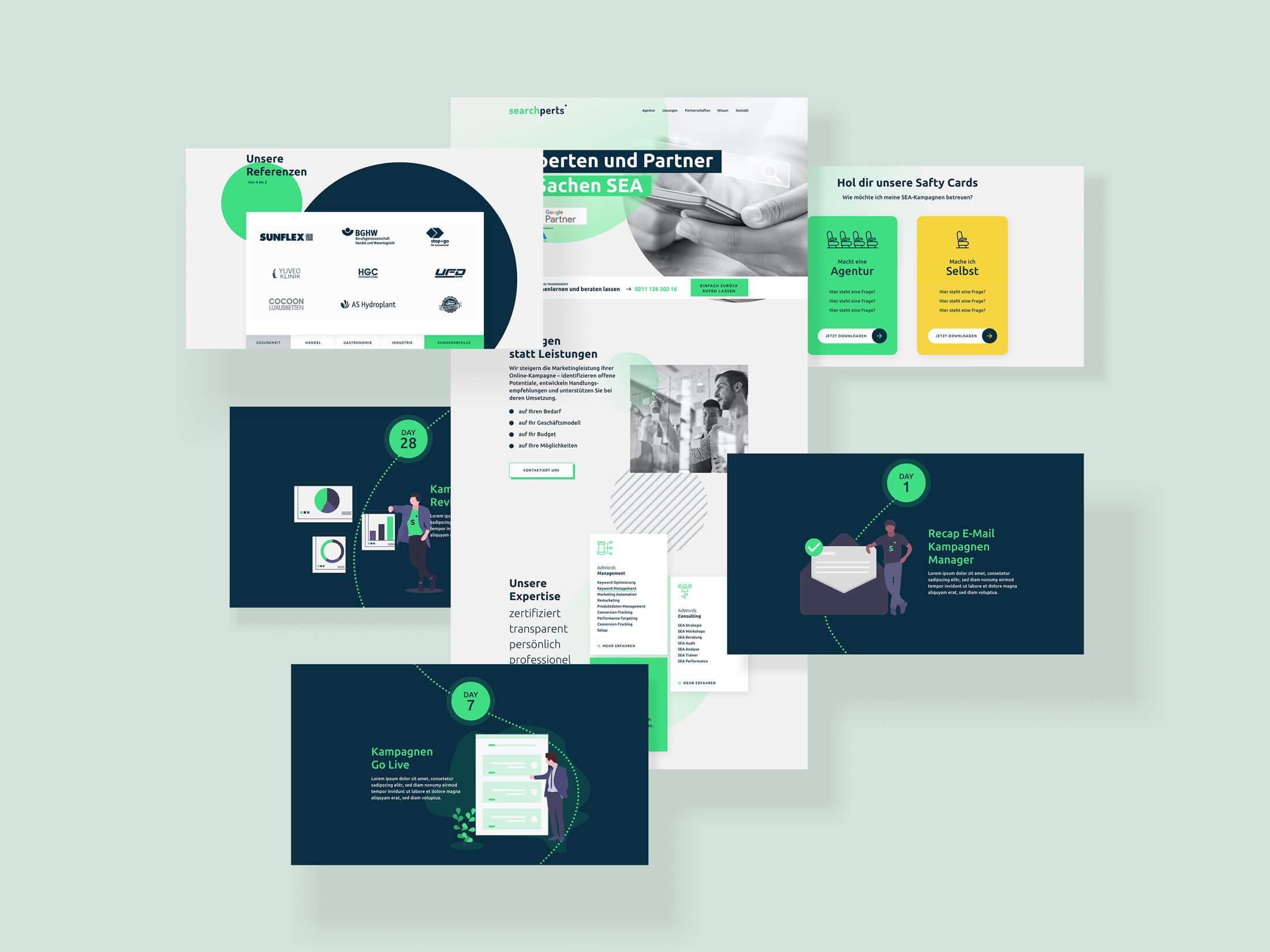 searchperts Deutschland GmbH Webdesign UI/UX Online Marketing Werbeagentur Düsseldorf