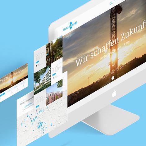 Tecklenburg Erstellung der Website durch Webdesign und Programmierung