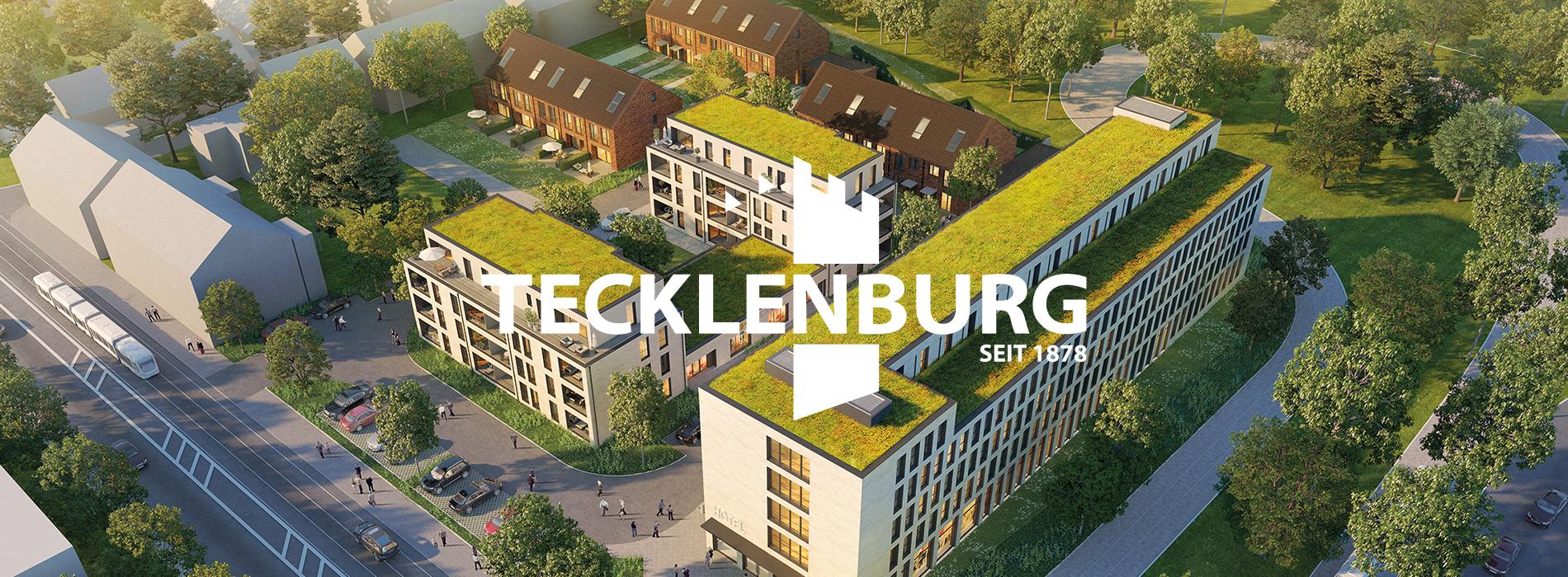 Tecklenburg Bau GmbH Webdesign Headerbild und Projekt HEY Düsseldorf