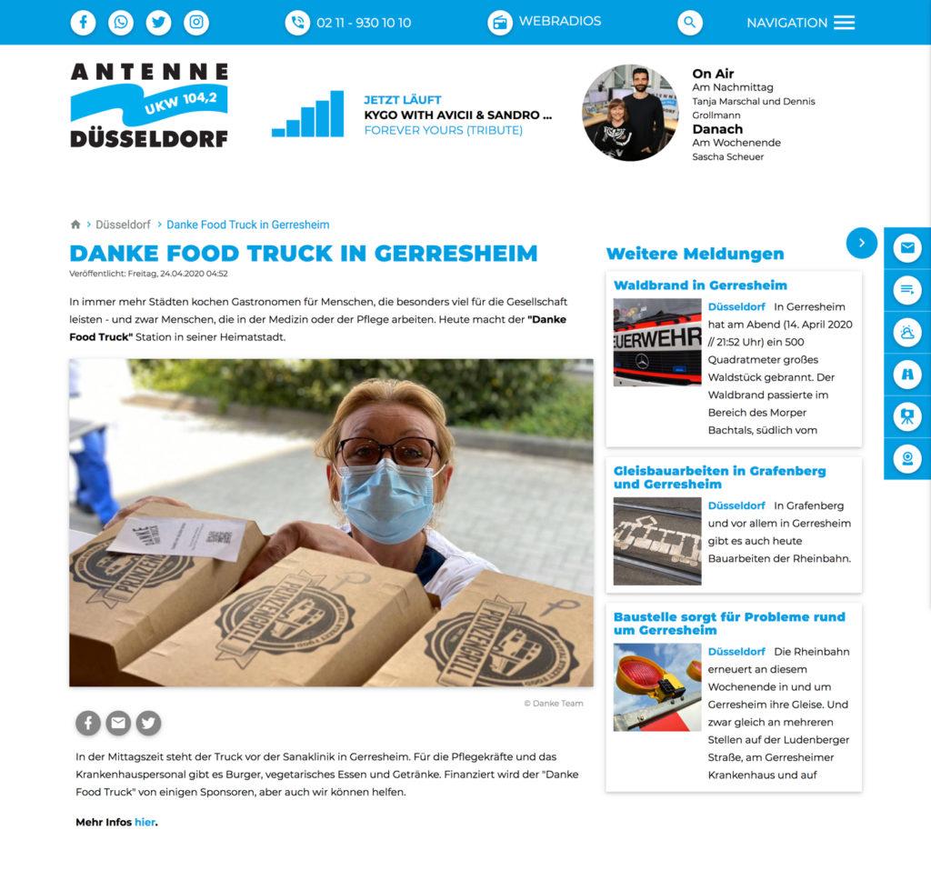 Antenne Düsseldorf Nachrichten Interview Andreas Ennemoser