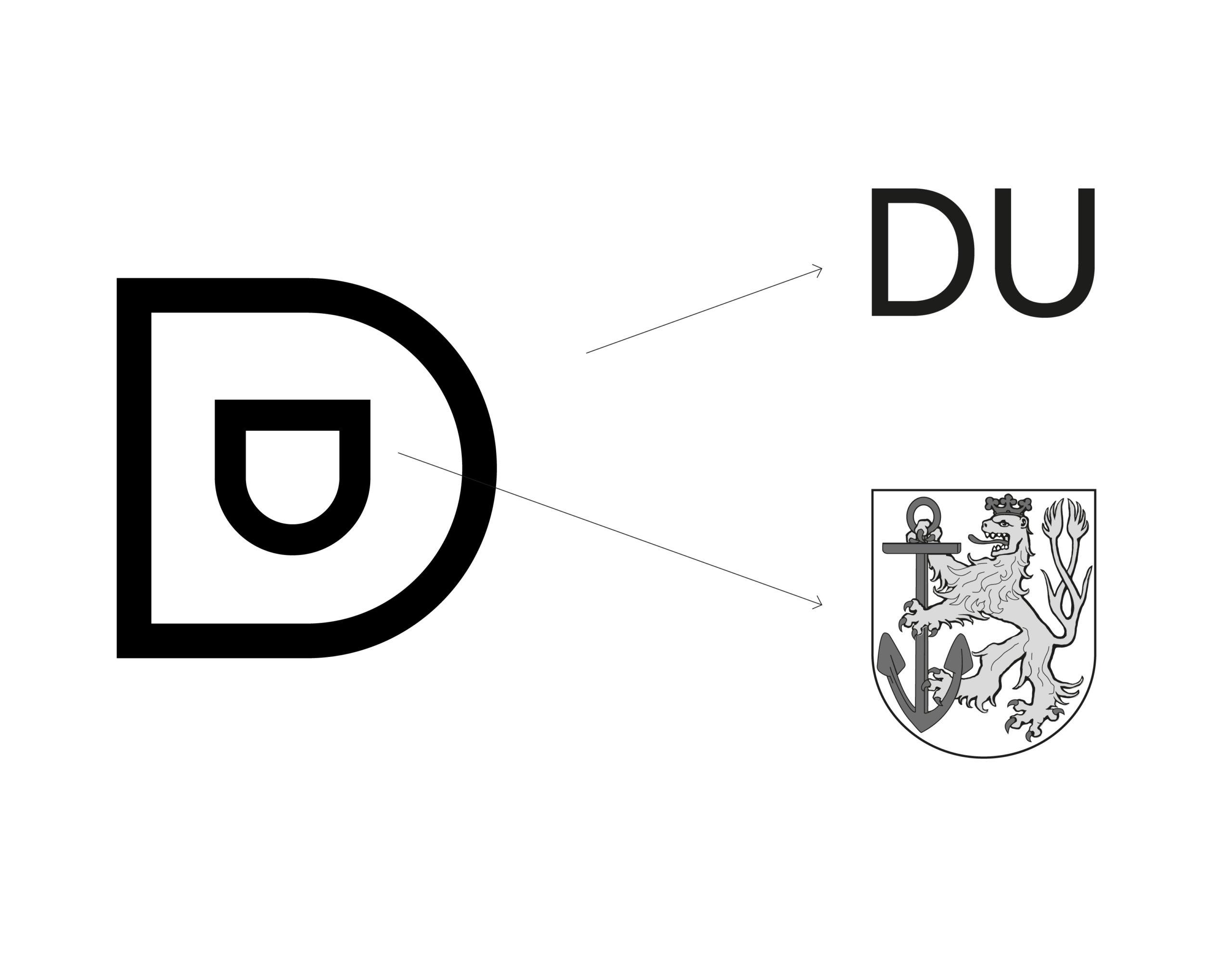 Katholische Hochschulgemeinde Düsseldorf Corporate Design Logo Herleitung