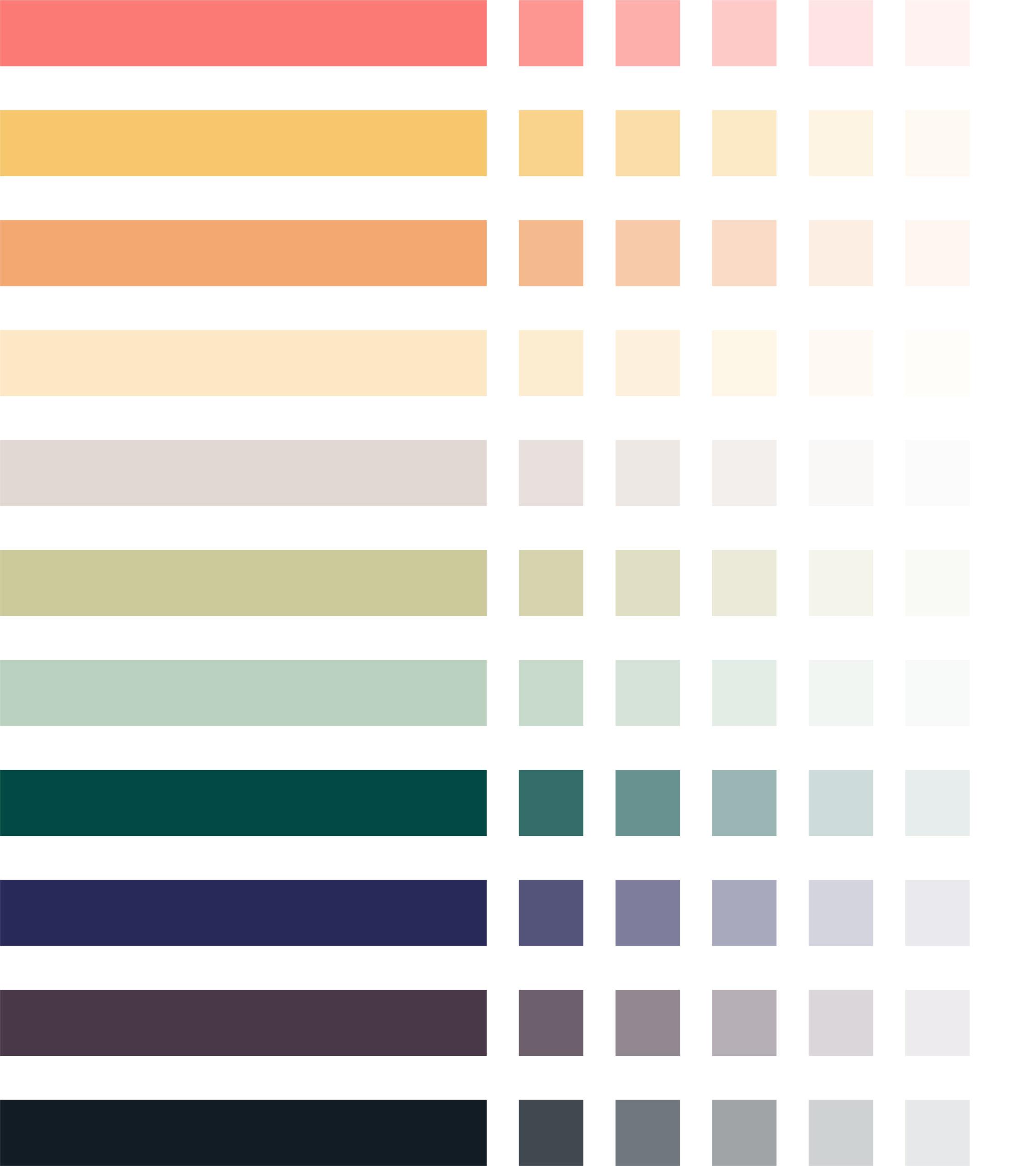 Katholische Hochschulgemeinde Düsseldorf Corporate Design Brand Manual Farbabstufungen