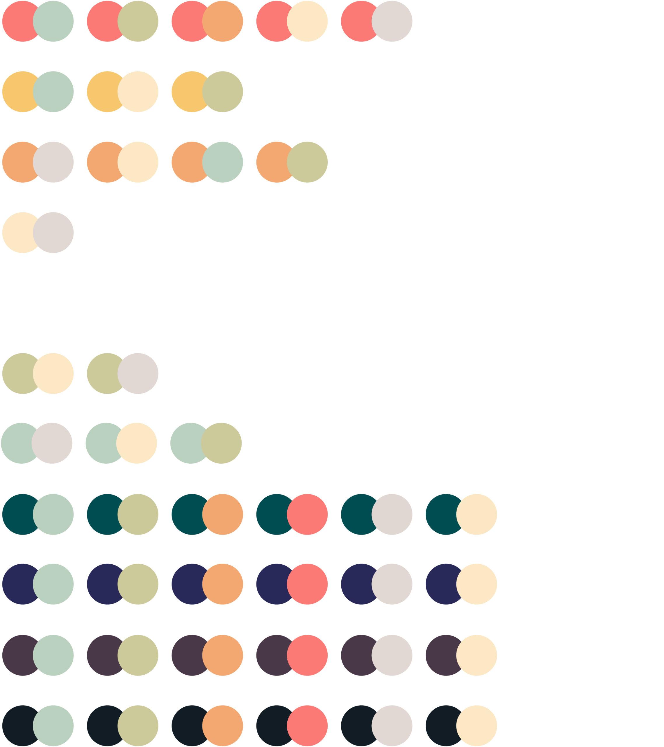 Katholische Hochschulgemeinde Düsseldorf Corporate Design Brand Manual Farbkombinationen