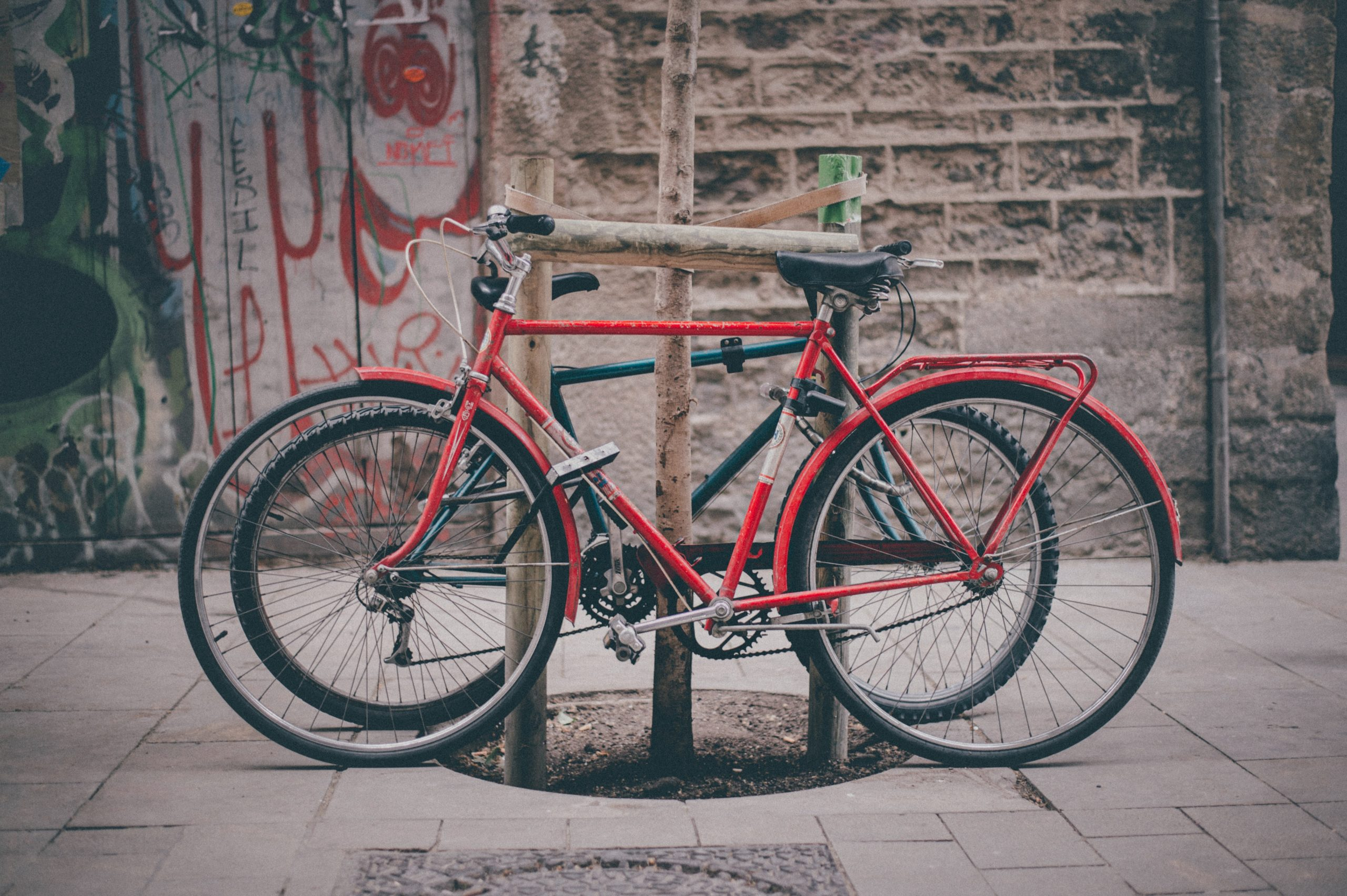 Katholische Hochschulgemeinde Düsseldorf Moodbild Fahrräder