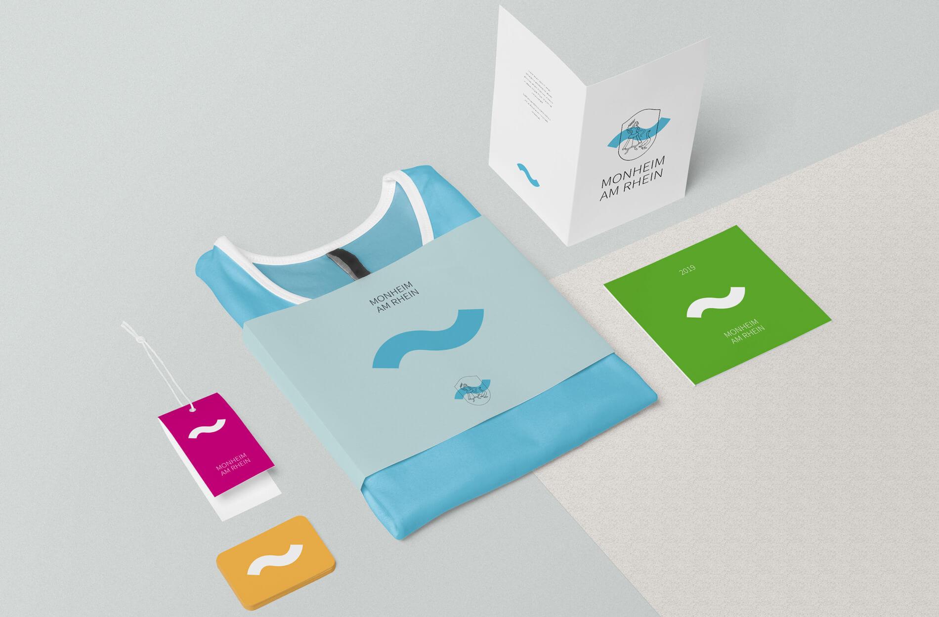 Monheim am Rhein T-Shirt, Einladungskarte, Postkarte