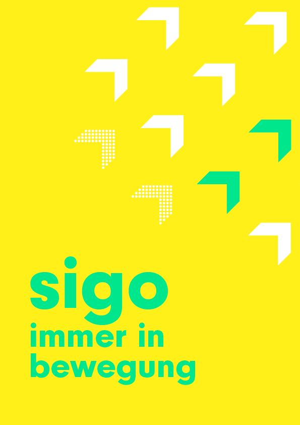 sigo GmbH Lastenfahrrad Kampagnenplakat