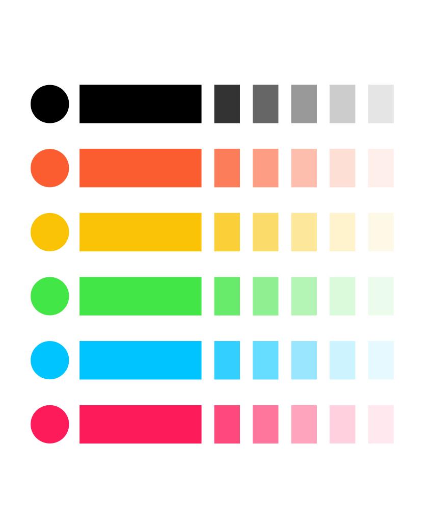 Farbwelt Corporate Design Brand Manual Werbeagentur Düsseldorf